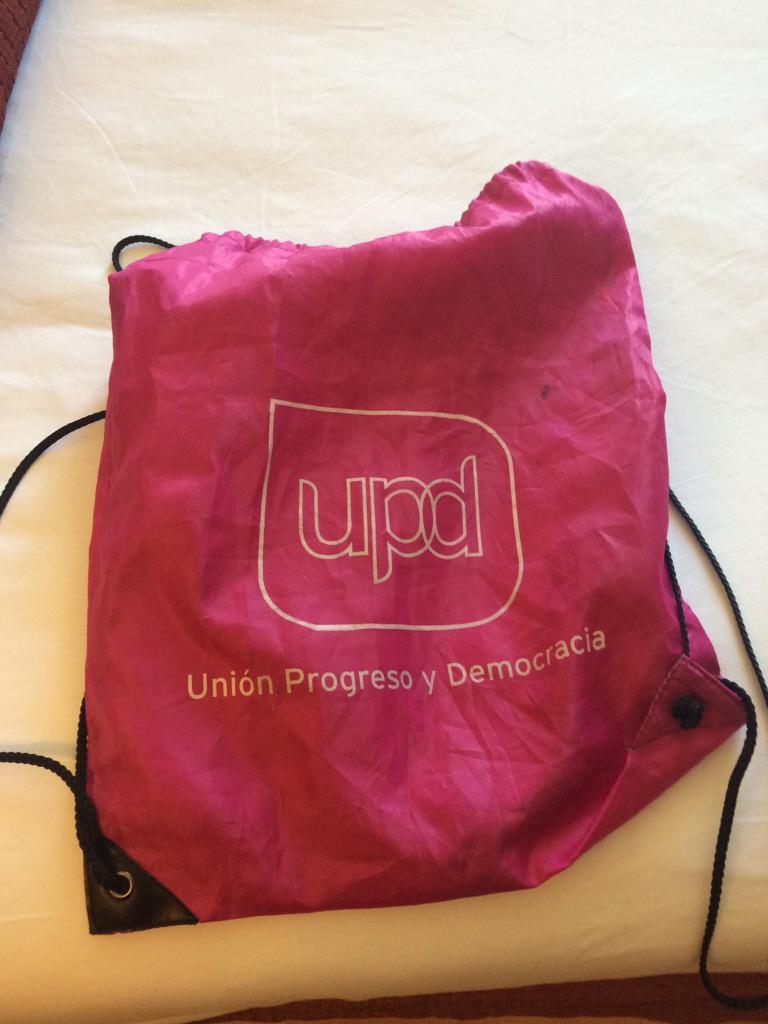 Ir por las calles de Málaga con mi mochila de .@UPyD  y que me digan que van a votar a @mdlherran !! #Subidon http://t.co/eofI5ByVOC