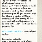 RT @ikaveri: A naval officers request on whatsapp. Please RT  cc @BloodAid