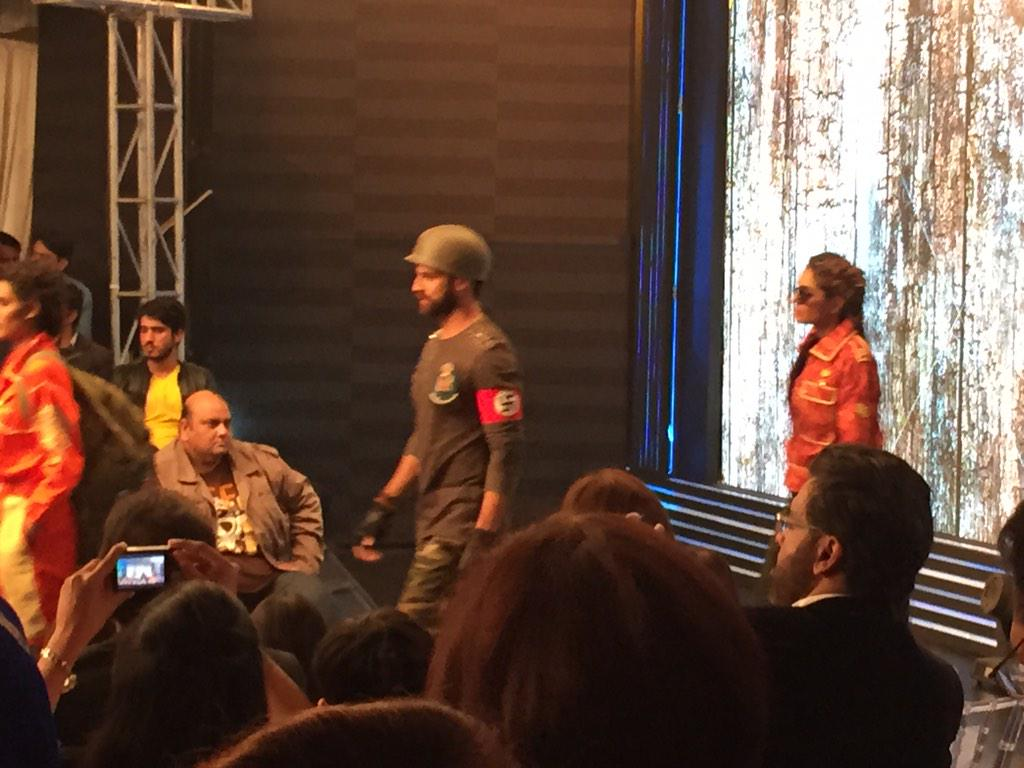 A Lahore fashion show provides another gem to add to my growing collection of Nazi iconography in Pakistan. http://t.co/DDcJwiL2rd