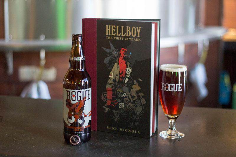 Toast 21 years of @artofmmignola's #Hellboy, @DarkHorseComics with Right Hand of Doom Red Ale. http://t.co/HNWVz1bzpn http://t.co/FMqzf0zbG6