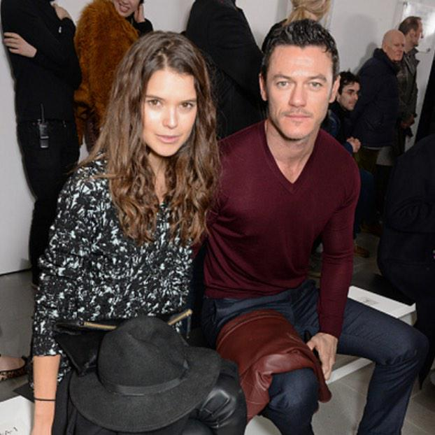 Front row @PringleScotland #LFW #AW15 @SarahAnnMacklin and @TheRealLukevans #FROW #Pringle #Pringle200Years http://t.co/ItAZRvjpUO