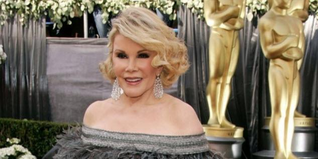 #Oscars feels wrong w/out #JoanRivers. Bummed the Academy didn't include the red carpet queen during the In Memoriam. http://t.co/XoOTP7w4It