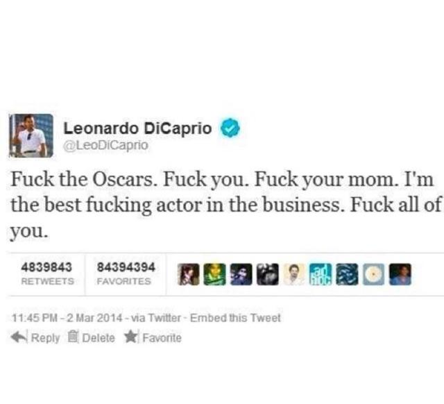 Shoutout to our boy Leo! #oscars http://t.co/xdw2VZwyyn