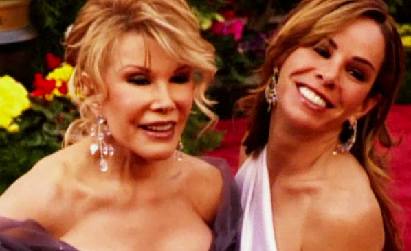 Aww! Watch @MelRivers in this amazing tribute to the irreplaceable @JoanRivers: