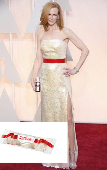 "Hahahaha @Marcelopp27: Nicole Kidman foi de Raffaello? #Oscars2015 http://t.co/tAPm4bXvox"""