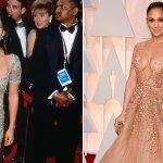RT @GMA: #Oscars Flashback: @JLo in 1997 and 2015 http://t.co/Z2PrgVl7hJ