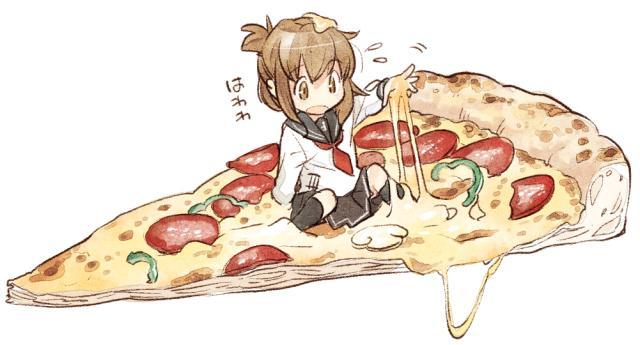 なぜかいきなり、ピザなのです。 http://t.co/BimihDaowf