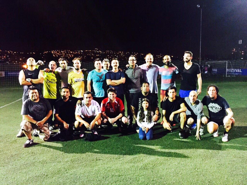 Ayer después del partido contra la selección de @Bizarro_Chile http://t.co/TTRIrvAU6V