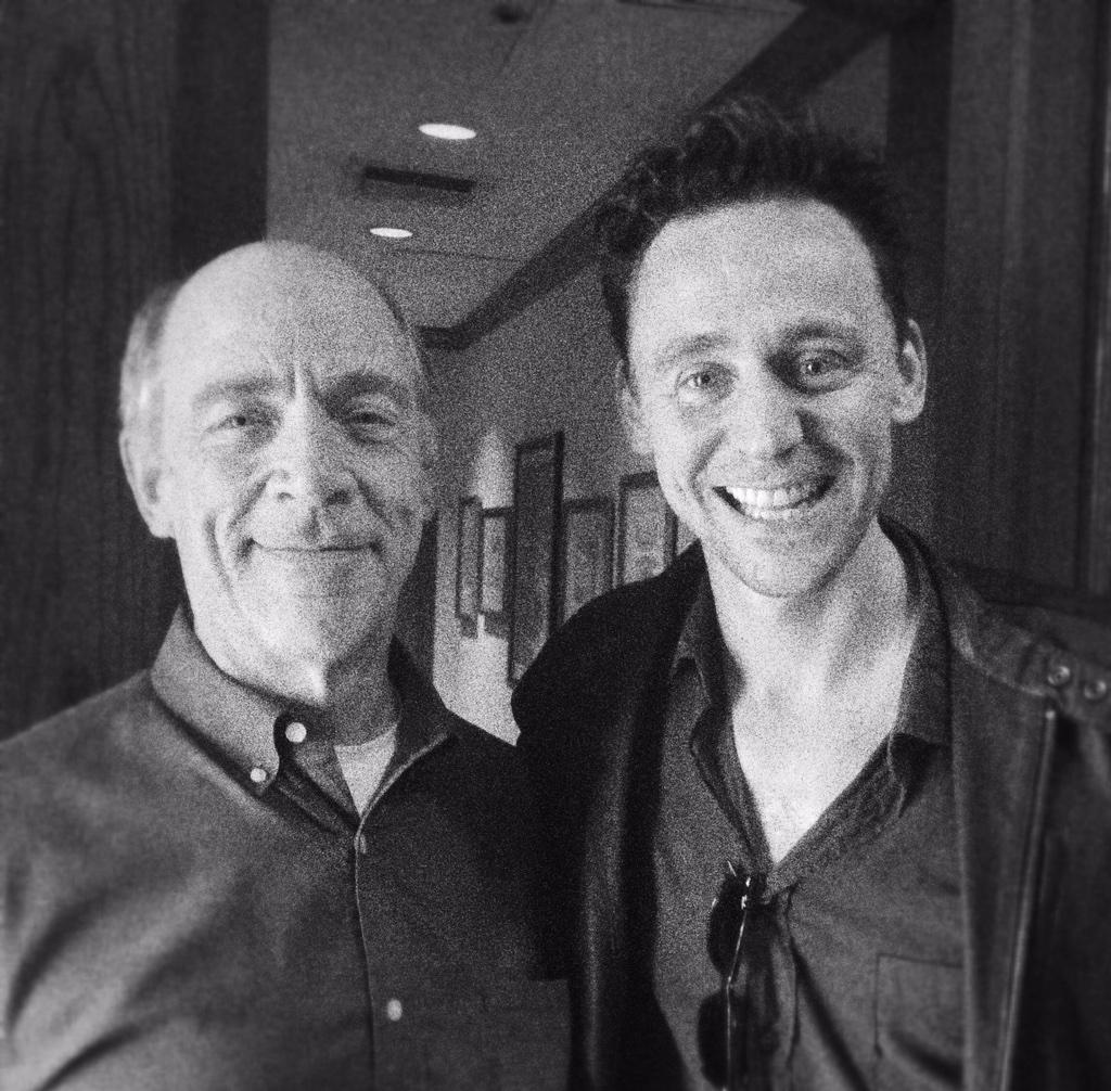 J.K. Simmons and @twhiddleston. Gentleman and scholars. Couldn't ask for better people to explore Skull Island with. http://t.co/j0akzWfBiW