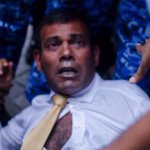 RT @Roxeyna: This is HORRIFIC! A president of Maldives being treated like a criminal b4 a verdict. @narendramodi @JuergenMorhard