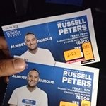 RT @RohanShrestha: Fantastic show @therealrussellp ! Thank you @AnupamPkher for the last minute help! Jaws hurting post the show! http://t.…