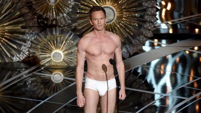 Oscars2015: Neil Patrick Harris Reveals How His 'Birdman' Undies Came to Be