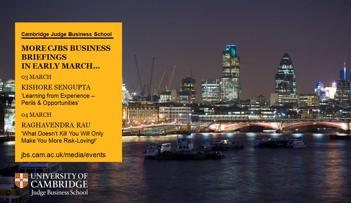 Are you aware of our business briefings with faculty at London's BNY Mellon Centre? #CJBSBB http://t.co/Z2HDGSwEor http://t.co/gskb3V9YfD