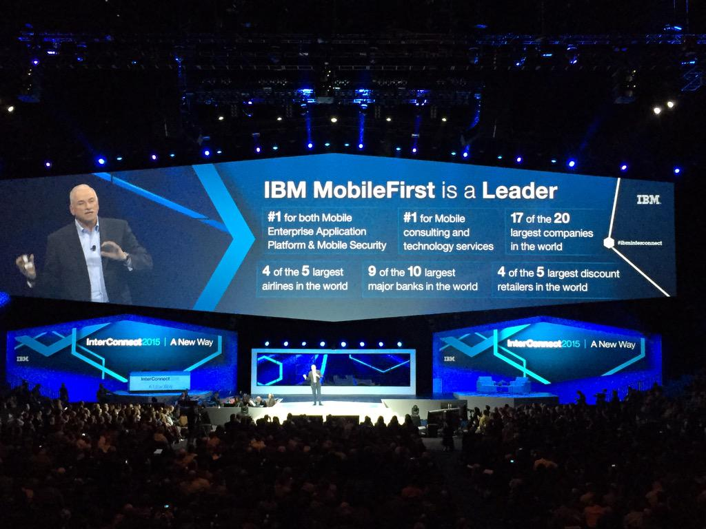 """""""Is mobile driving the cloud or is the cloud driving mobile? Both."""" #ibmmobile #IBMInterconnect http://t.co/B9P1FBzWbA"""