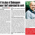 RT @priyaguptatimes: Anupam Kher talks abt his new play with Neena Gupta 'Mera Woh Matlab Nahi Tha' @AnupamPkher http://t.co/5H6lu5vvN2