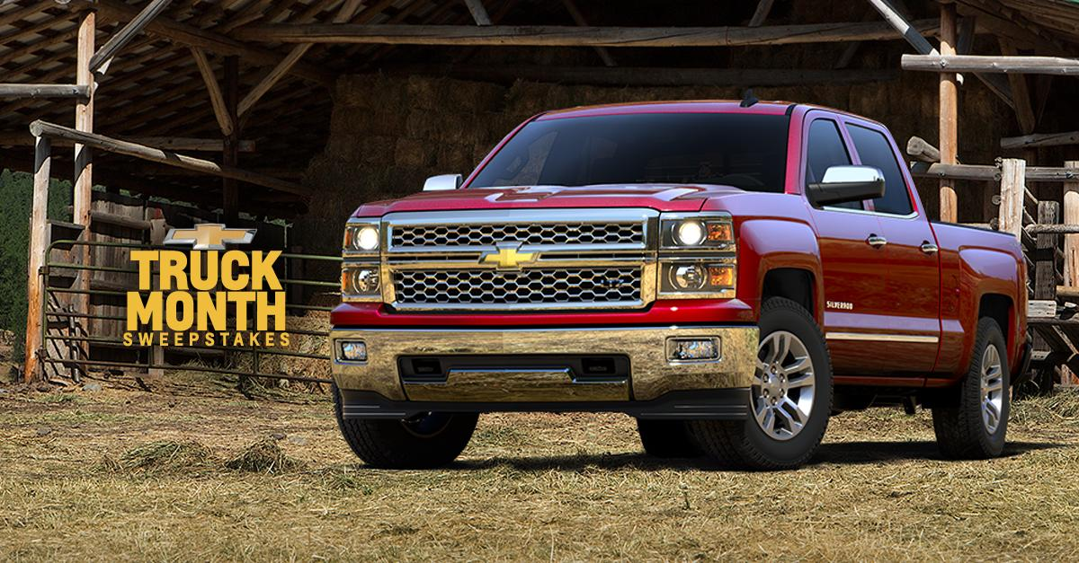 Enter for your chance to win a 3-year lease on a new 2015 #Chevy #Silverado or $1,000! http://t.co/naRRzopTGz http://t.co/nPDiGhA9yr
