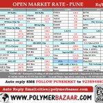 28/4 🅿🅱 #Polymers Open Market Rate :  #Pune Click:http://t.co/xlfQceEuHb    Auto📧:cities@polymerbazaar.com  http://t.co/wXKzhpBjrQ