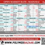 5/3 🅿🅱 #Polymers Open Market Rate :  -Madurai Click:http://t.co/3WKz6xmrJl  Autoreply:cities@polymerbazaar.com  http://t.co/OWBwSsOfun