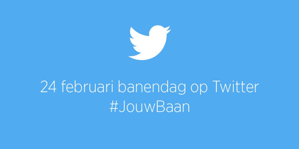 Vandaag 1e landelijke banendag op Twitter. Vind personeel met #JouwBaan |http://t.co/nDMraI0UNh via @UWVnl @TwitterNL http://t.co/u6h3OJMTZh