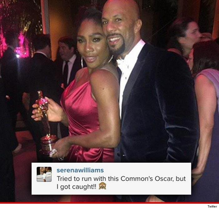 Are Serena Williams & Common BACK TOGETHER??
