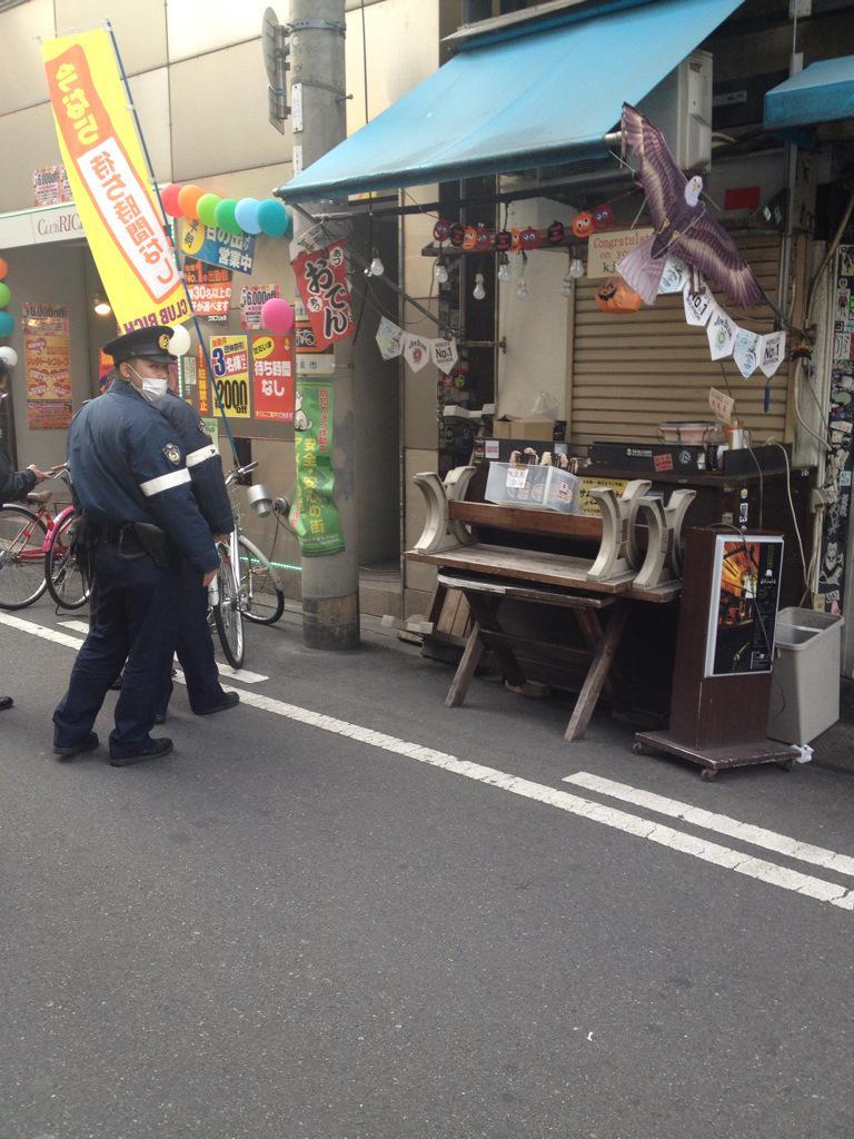 【画像あり】 大阪のアメリカ村で火炎瓶(100円)を販売→警察沙汰に