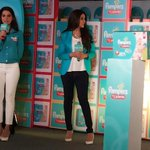 RT @iFaridoon: ..@geneliad at an event for Pampers in Mumbai today... http://t.co/AhJGXfvfcg