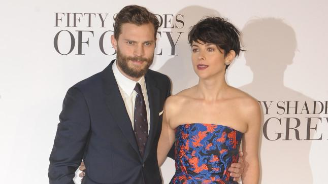 Jamie Dornan 'to quit FiftyShadesOfGrey following wife's disapproval' - nooo!