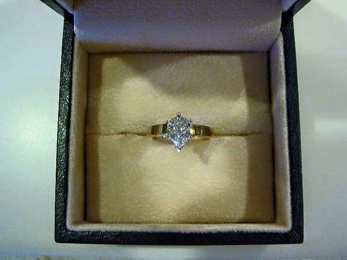 Engagement ring found outside Cardiff John Lewis with receipt in box.. It's safe in Cardiff Police station Pse RT! X http://t.co/P98OLtz7bZ