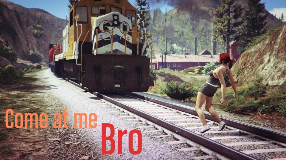 Come at me bro @RockstarGames @GTASeries @GTAJunkies @SnapographyCREW #GTAV #GTAOnline #GTAPhotographers #Snapmatic http://t.co/ii1DEwFHnh
