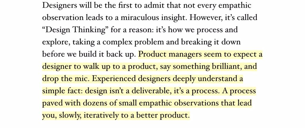 "This post by @scottjenson on empathy in design is so good: ""The Paradox of Empathy"" - http://t.co/9mYXqWEVP0 http://t.co/J3lekmt5DW"