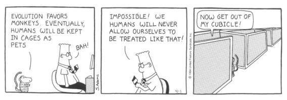 Dilbert on Cubicles #Humor #RelationshipCapital @ronmci @davidhain http://t.co/NynHixQJ49