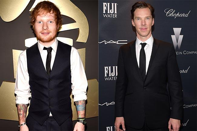 .@edsheeran has made a HUGE revelation about Benedict Cumberbatch: