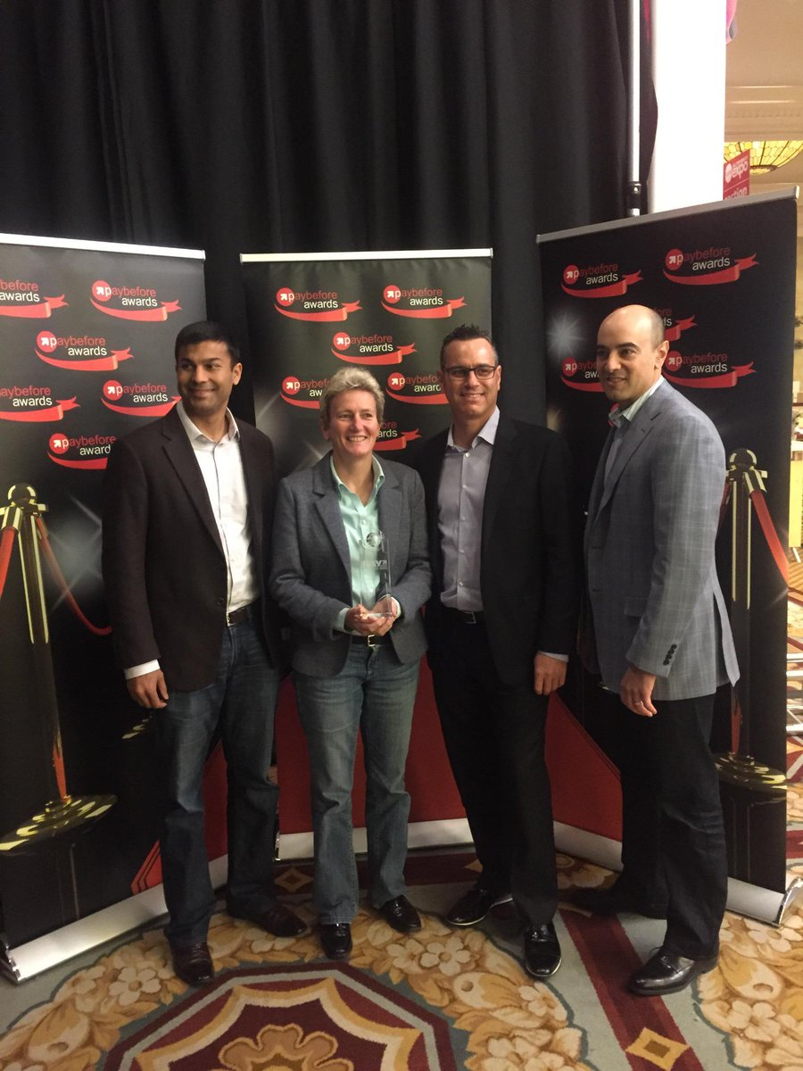 ".@OinkApp @Marqeta @Discover win Best in Class ""Head of the Class"" award at @AllPaymentsExpo!!! http://t.co/PMnam0SAUu"