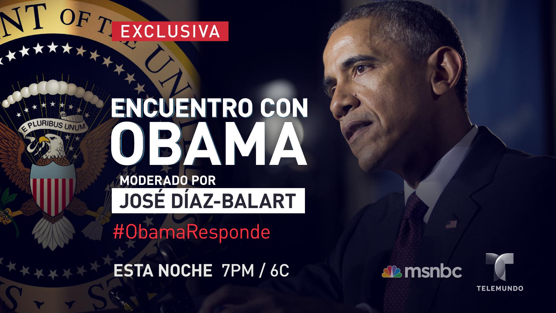 Haz preguntas de inmigración al presidente #Obama con el hashtag #ObamaResponde y sintoniza @Telemundo esta noche http://t.co/LpBcO7deEp