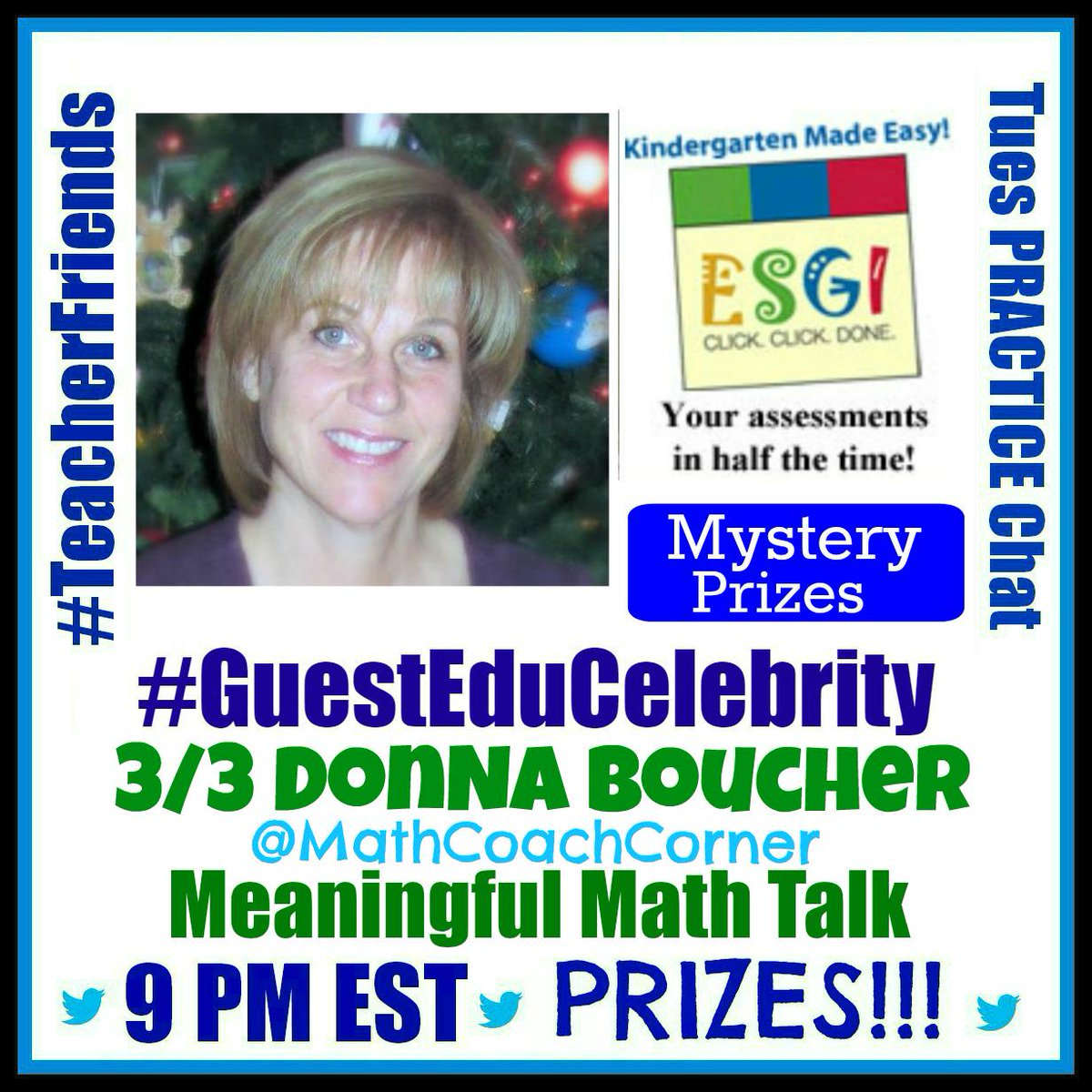 #TeacherFriends Next week we welcome Donna @MathCoachCorner as our guest! Share and invite! http://t.co/Mr4rcyr9IT