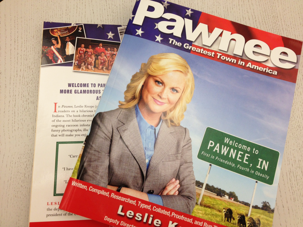 RETWEET for a chance to win a copy of Pawnee: The Greatest Town in America! #ParksFarewell #ParksandPrizes2 http://t.co/rZdmFa9yEe