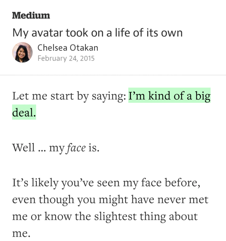 """I'm kind of a big deal."" —@chexee https://t.co/sjkUUIpJWC http://t.co/tW5bo22D3k"
