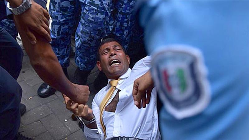 Did China play a role in Mohamed Nasheed's arrest? http://t.co/1KEIbl6157 #islandpresident http://t.co/5ZO3Lk0pra