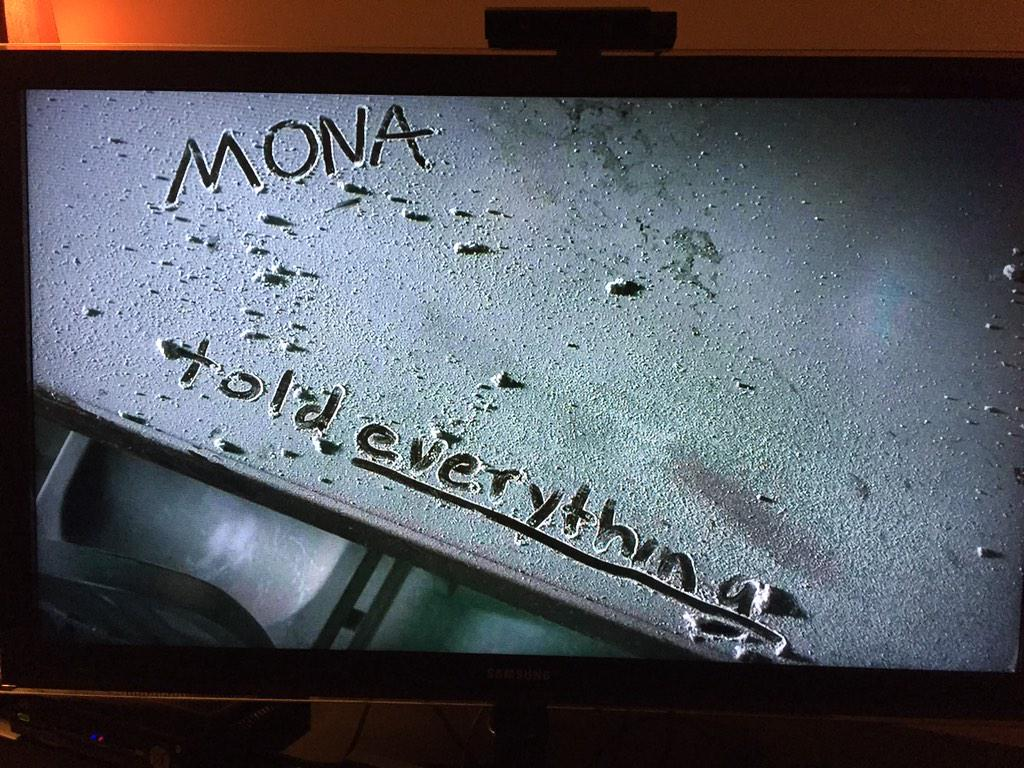 Snitches wind up in ditches... #PLL #PLLChat #PLLTheory #PLLSocialHour @M3TV http://t.co/L0o2Lasyw5