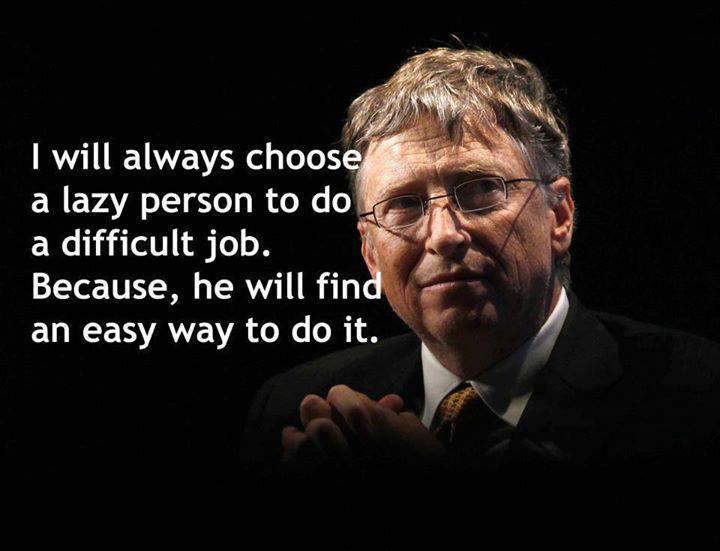 Bill Gates (said in interview): http://t.co/YOVpv6Y0wP