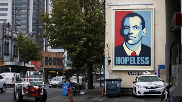 "Huge ""Hopeless"" sign hits Chippendale http://t.co/GMknAKxDdx http://t.co/jPYVZAMLex"