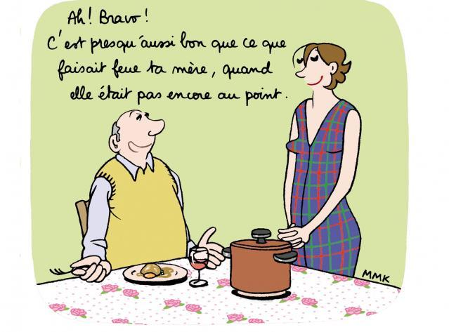 gloria aux fourneaux ou l humour d une quadra en cuisine gt recettes bd femina fr chrissim2