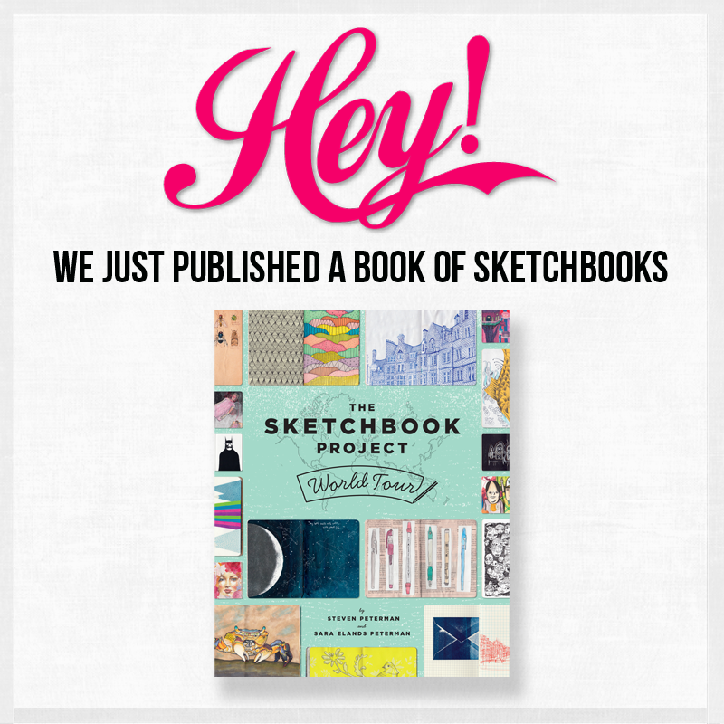 Very pleased to present our new book, The Sketchbook Project World Tour! Pre-order today https://t.co/oBRRqaUHhw http://t.co/z29KahKspF
