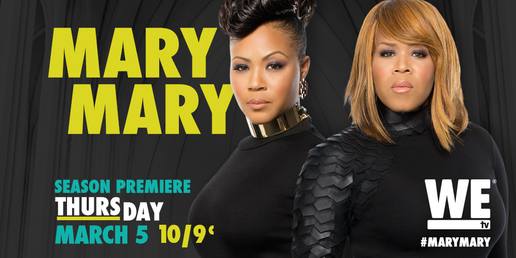 Retweet/Follow @MaryMary_WEtv for a chance to win some #MaryMary swag! No pur nec http://t.co/VRJCFVp52W http://t.co/HBHLaS8gxS
