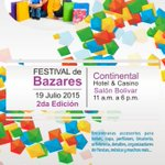 @RMensabe nuestra 2da edicion se realizara el 19JUL2015 en @HContinentalPTY +info festivaldebazares@gmail.com http://t.co/OQm7FCDWO7