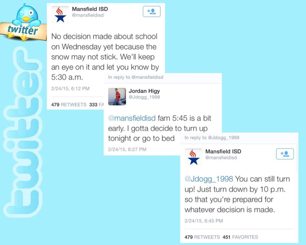 Most unexpected response from a school district ever. #KeepIt100 http://t.co/NnVjl1o2oL
