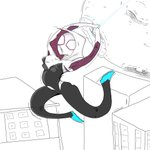 RT @JAParkerart: Here is my #SpiderGwen for release today! Such an awesome character @AgentM @DanSlott @jasonlatour