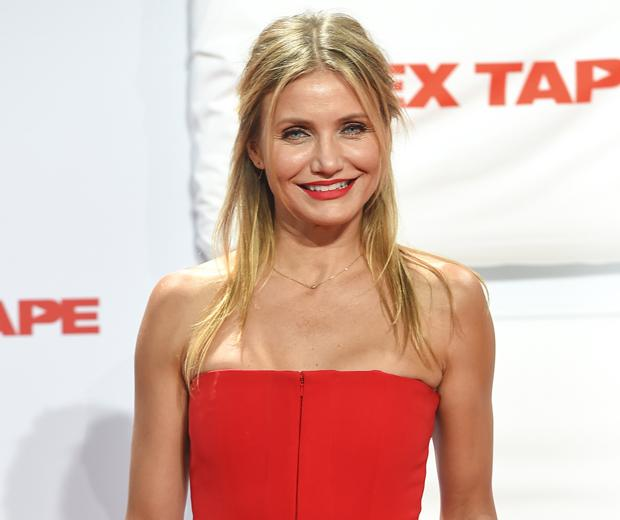 Erm... Have you SEEN what Cameron Diaz's new hubby has just got tattooed across his chest?!