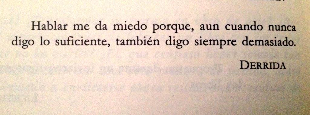 Jacques Derrida http://t.co/t26g8PQd5D