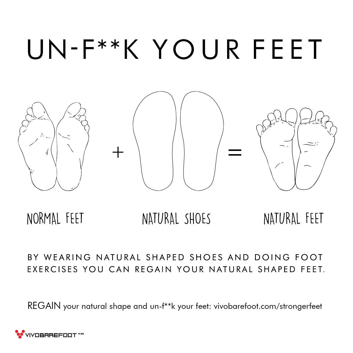 It's time to un-fuck your feet. http://t.co/5NA0e0X4Tn #ForFootSake http://t.co/WXkoaZm3ml